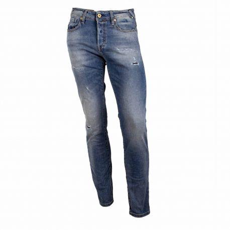 Jeans 12185870 Homme JACK & JONES marque pas cher prix dégriffés destockage