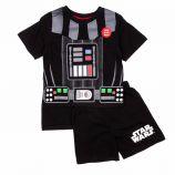Pyjama court tee-shirt cape amovible & short coton Enfant STAR WARS