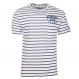 Tee shirt rayé manches courtes coton Homme TOMMY HILFIGER