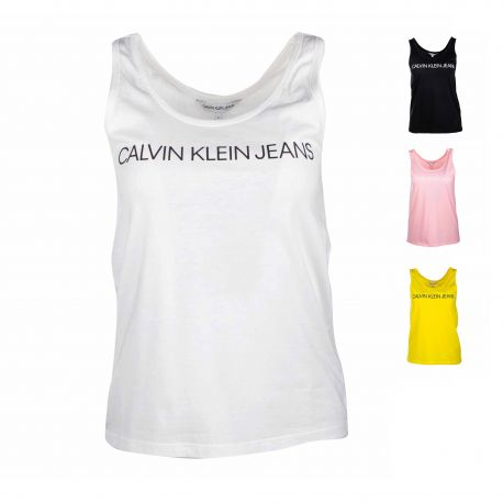 Debardeur logo j20j213051 Femme CALVIN KLEIN marque pas cher prix dégriffés destockage