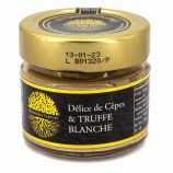 Sauce crème Délice cèpes et truffe blanche 90gr SIGNORINI TARTUFI