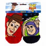 Lot de 2 paires de chaussettes antidérapantes Toy's Story Enfant DISNEY