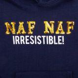 Sweat capuche 753102 8-14 ans Enfant NAF NAF marque pas cher prix dégriffés destockage