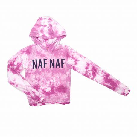 Sweat capuche 753064 3-14 ans Enfant, Bébé NAF NAF marque pas cher prix dégriffés destockage