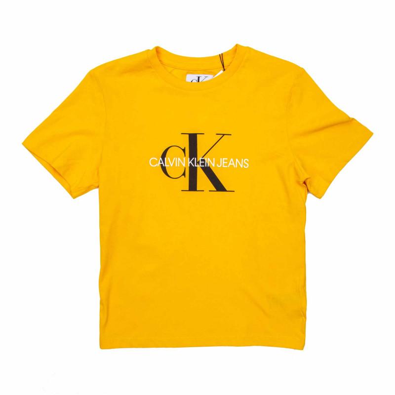 Tee shirt mc Enfant CALVIN KLEIN marque pas cher prix dégriffés destockage