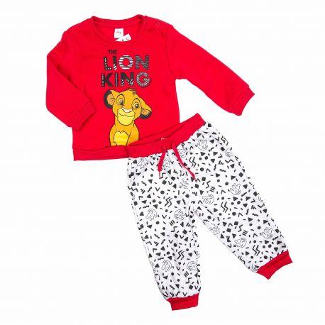 Ensemble jogging roi lion bebe 3 a 24 mois dis kl 51129559 Bébé DISNEY marque pas cher prix dégriffés destockage
