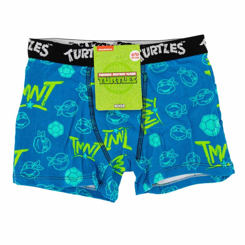 Boxer coton tmnt/3/bc/ass1 Enfant NICKELODEON marque pas cher prix dégriffés destockage