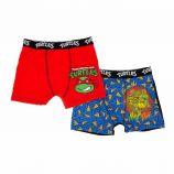 Lot de 2 boxers Tortues Ninja Enfant NICKELODEON