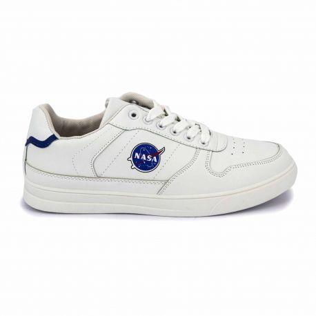 Basket csk17 blanc Homme NASA marque pas cher prix dégriffés destockage
