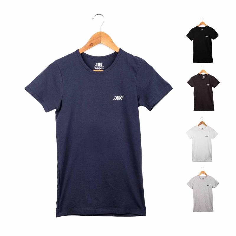 Tee shirt mc nmrh 3009 Homme NEW MAN