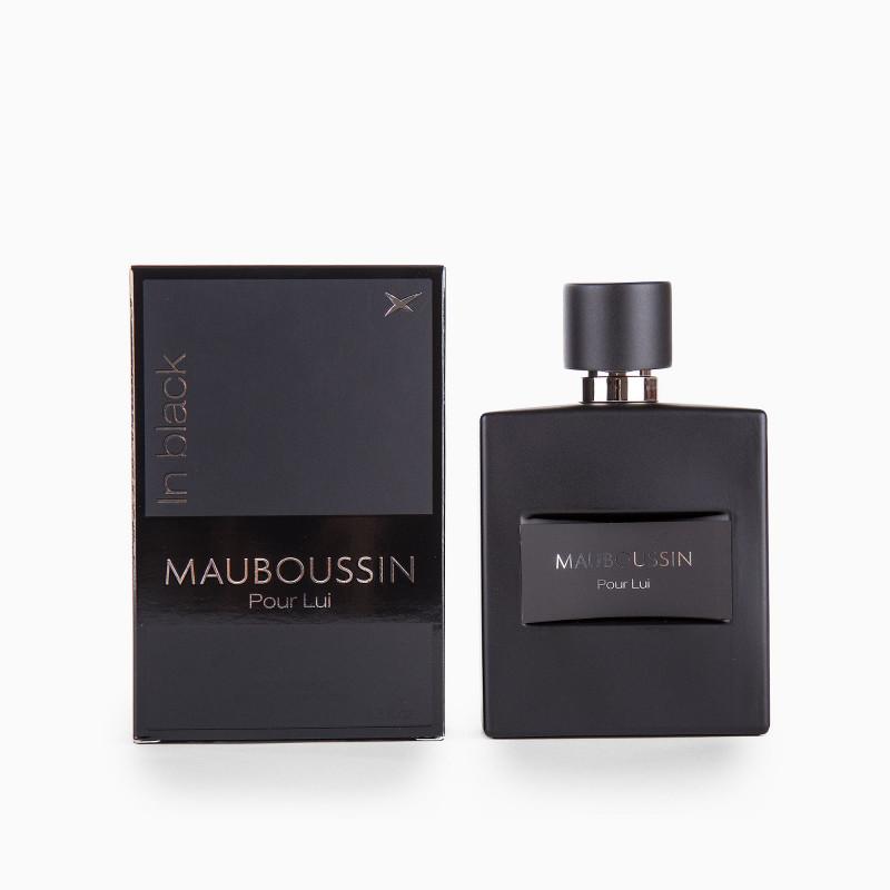 Eau de parfum Pour Lui In Black 100ml Homme MAUBOUSSIN marque pas cher prix dégriffés destockage