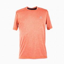 Tee-shirt orange homme SALOMON marque pas cher prix dégriffés destockage