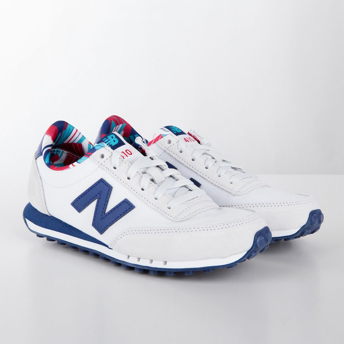 Baskets sneakers WL410CPD blanc & bleu femme NEW BALANCE à ...
