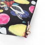 Petit sac simili cuir imprimé fruits femme CHRISTIAN LACROIX marque pas cher prix dégriffés destockage