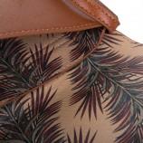 Petit sac simili cuir camel / noir femme CHRISTIAN LACROIX marque pas cher prix dégriffés destockage