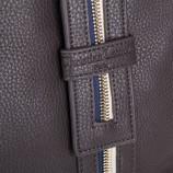 Sac à main simili cuir marron zip femme CHRISTIAN LACROIX marque pas cher prix dégriffés destockage
