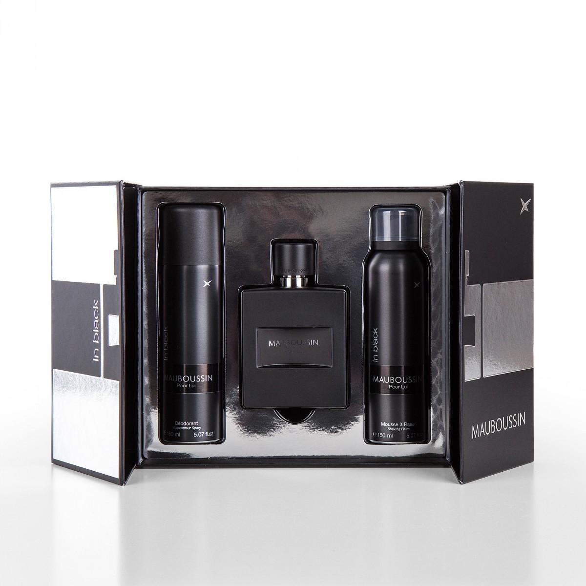 coffret parfum eau de parfum 100 ml d odorant 150 ml. Black Bedroom Furniture Sets. Home Design Ideas