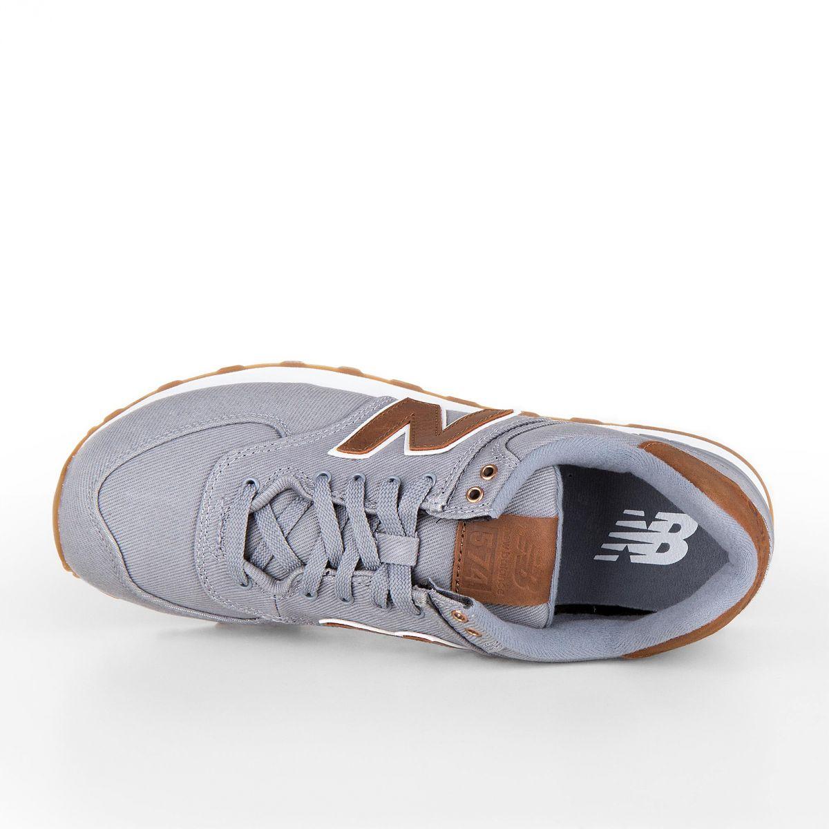 À Homme Sneakers Marron Grisamp; Ml574txc Prix New Baskets Balance qARjL435Sc
