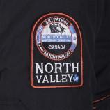 Blouson de ski à capuche homme NORTH VALLEY marque pas cher prix dégriffés destockage