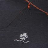 Tee shirt technique manches longues homme NORTH VALLEY marque pas cher prix dégriffés destockage
