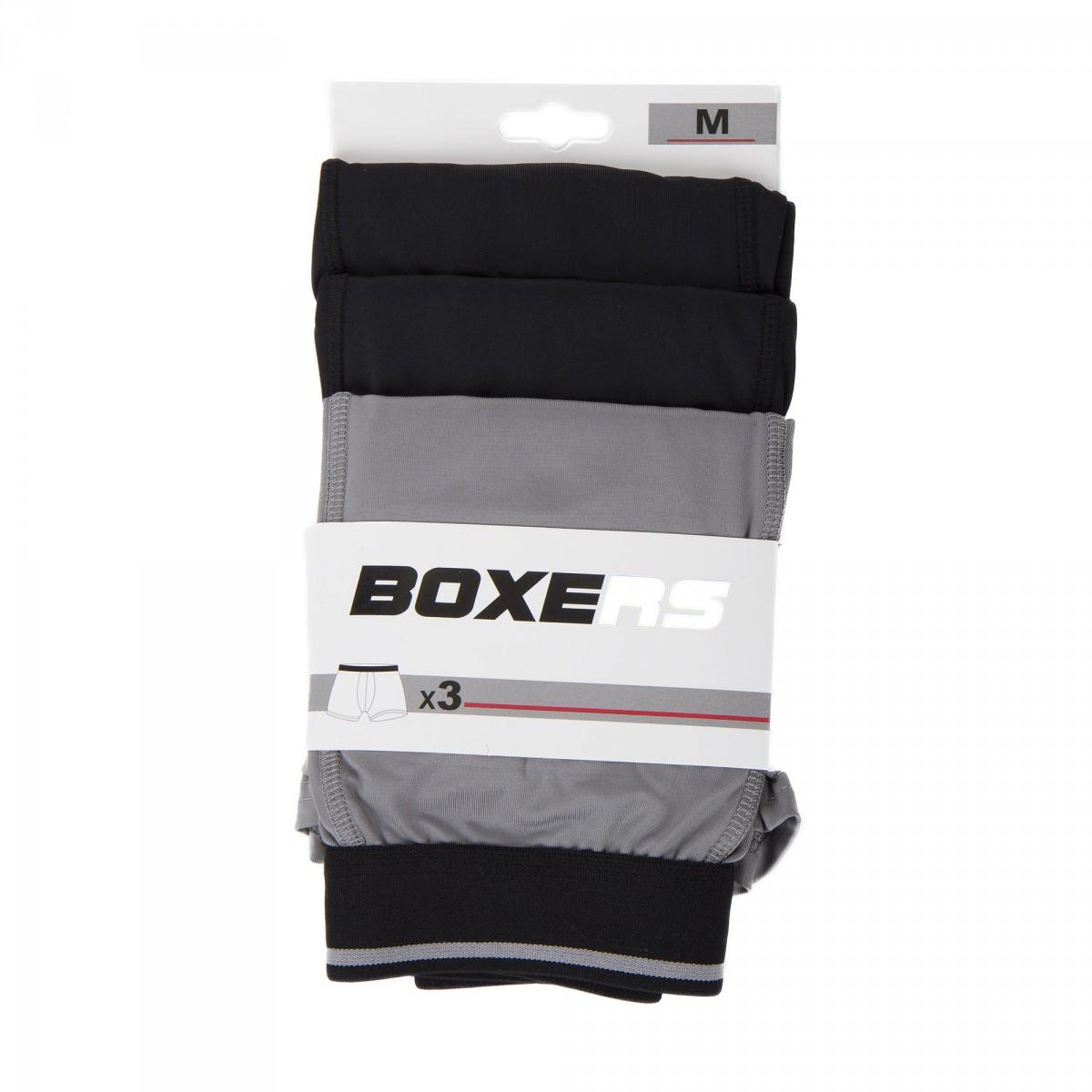 lot de 3 boxers homme azertex prix d griff. Black Bedroom Furniture Sets. Home Design Ideas