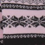 Lot de 3 paires de chaussettes motifs jacquard femme AZERTEX marque pas cher prix dégriffés destockage