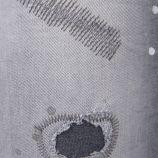 Jeans skinny gris déchiré homme AAKON MOEW marque pas cher prix dégriffés destockage