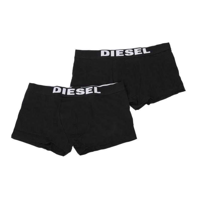 Lot de 2 boxers noirs homme DIESEL marque pas cher prix dégriffés destockage