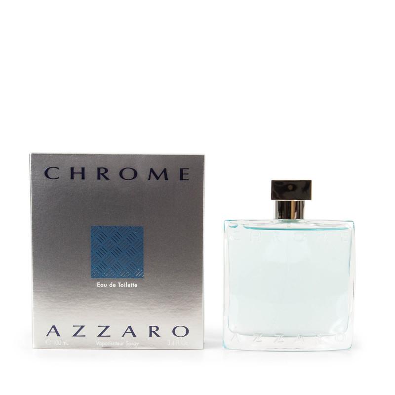 Parfum Eau De Toilette Chrome 100ml Homme Azzaro à Prix Dégriffé