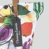Sac en tissu imprimés fruits femme CHRISTIAN LACROIX marque pas cher prix dégriffés destockage