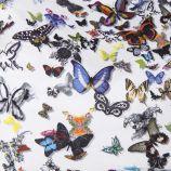 Grand cabas en tissu motifs papillons femme CHRISTIAN LACROIX marque pas cher prix dégriffés destockage