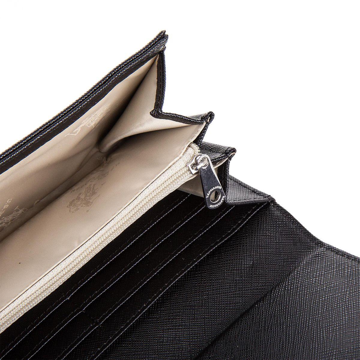 grand porte monnaie simili cuir femme us polo prix. Black Bedroom Furniture Sets. Home Design Ideas