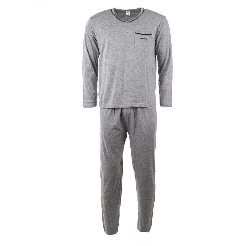 Ensemble pyjama coton homme LEE COOPER marque pas cher prix dégriffés destockage
