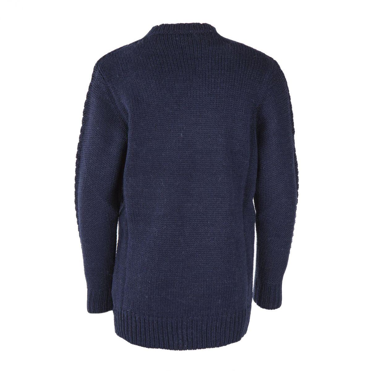 Pull en maille bleu marine gar on best mountain prix for 70 portent un pull bleu