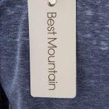 T-shirt manches longues basique à boutons enfants BEST MOUNTAIN marque pas cher prix dégriffés destockage