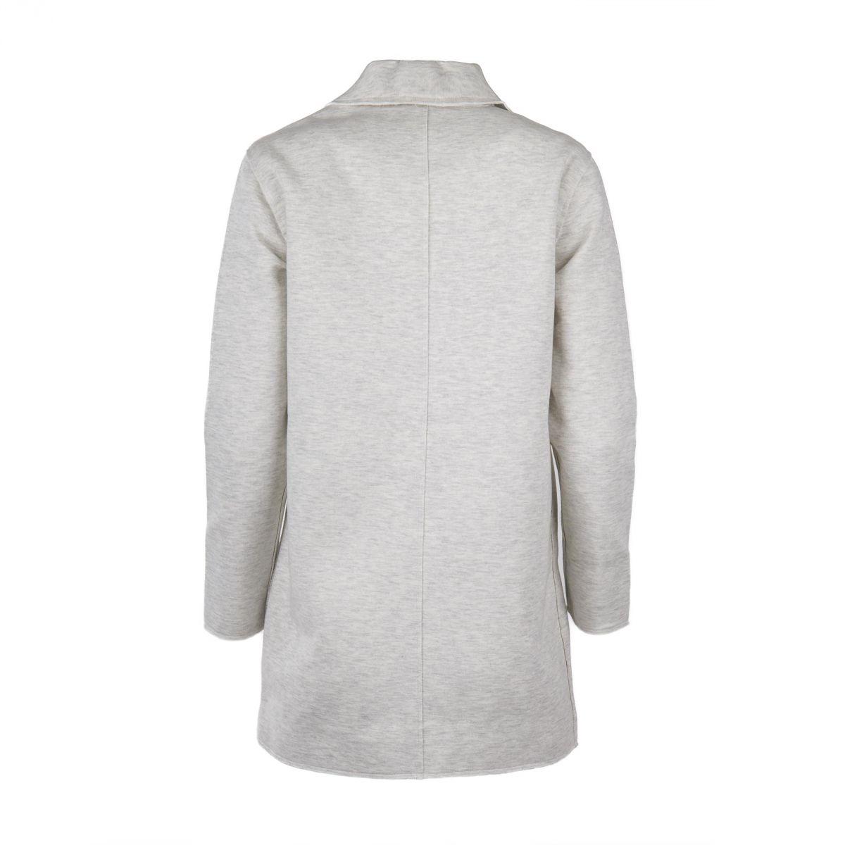 veste blazer longue en jersey femme ddp prix d griff. Black Bedroom Furniture Sets. Home Design Ideas