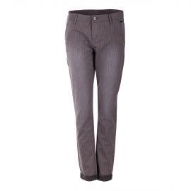 Pantalon rayé en toile femme DDP
