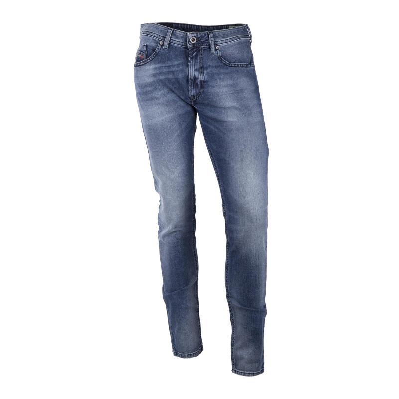 Jean THOMMER bleu délavé 0853P Stretch Slim Skinny Homme DIESEL marque pas cher prix dégriffés destockage