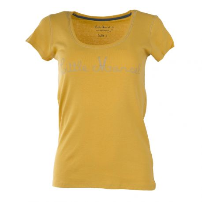 Tee shirt à manches courtes femme LITTLE MARCEL marque pas cher prix dégriffés destockage