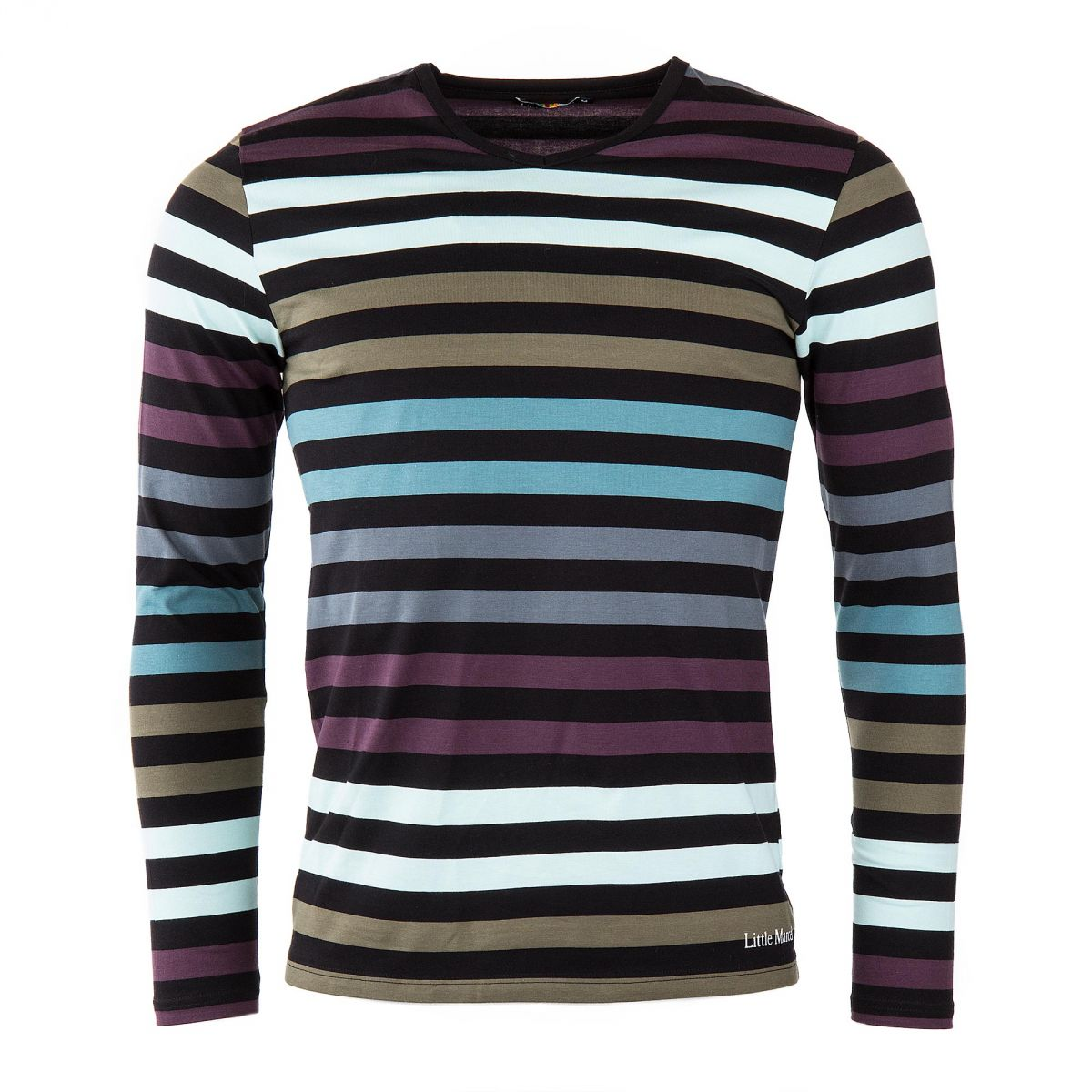 tee shirt rayures homme little marcel prix d griff. Black Bedroom Furniture Sets. Home Design Ideas