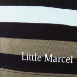 Tee shirt à rayures homme LITTLE MARCEL marque pas cher prix dégriffés destockage