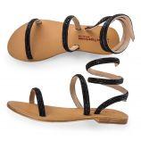 Sandales à perles femme OLGA LES TROPEZIENNES marque pas cher prix dégriffés destockage