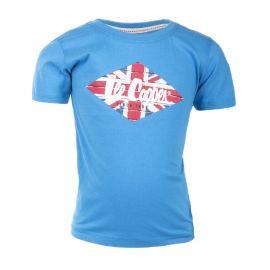 Tee-shirt en coton manches courtes floqué garçon LEE COOPER marque pas cher prix dégriffés destockage