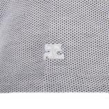 Tee shirt manches courtes chiné femme COURREGES marque pas cher prix dégriffés destockage