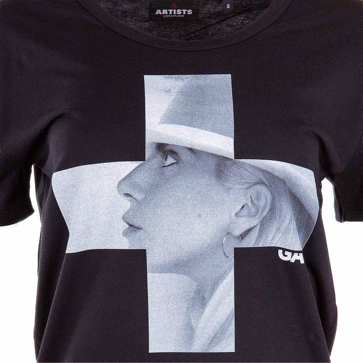 Tee Gaga Shirt Artists À Femme Lady Prix Dégriffé Floqué OXuPTkZi
