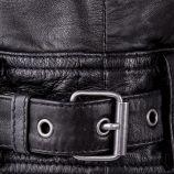 Perfecto noir en cuir homme ARTISTS marque pas cher prix dégriffés destockage