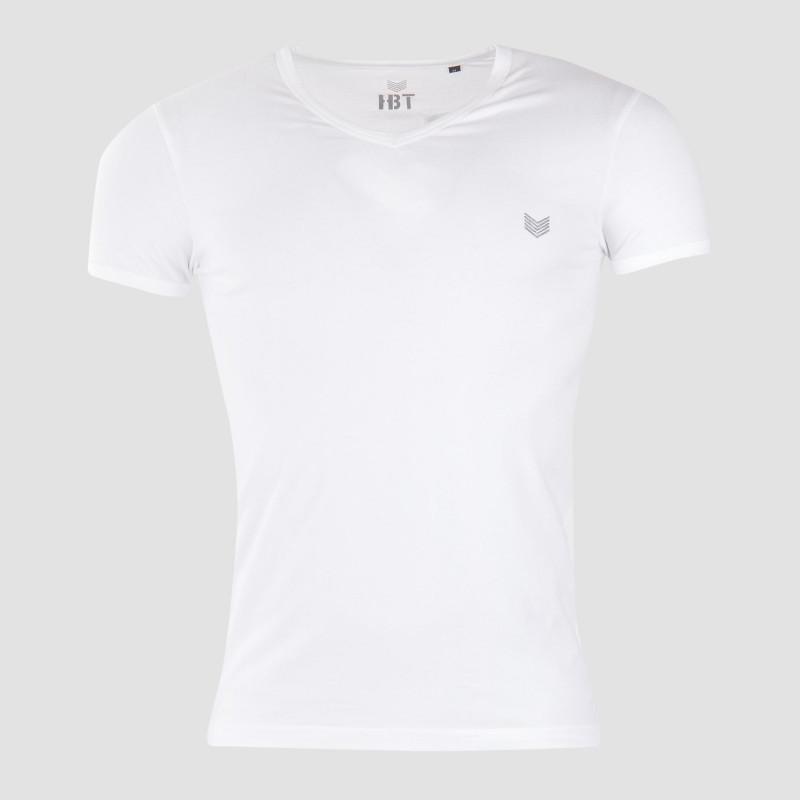 Tee shirt col V manches courtes homme HBT marque pas cher prix dégriffés destockage