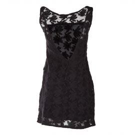 Robe en crochet noir femme ON YOU marque pas cher prix dégriffés destockage
