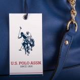 Sac bourse bleu femme US POLO marque pas cher prix dégriffés destockage