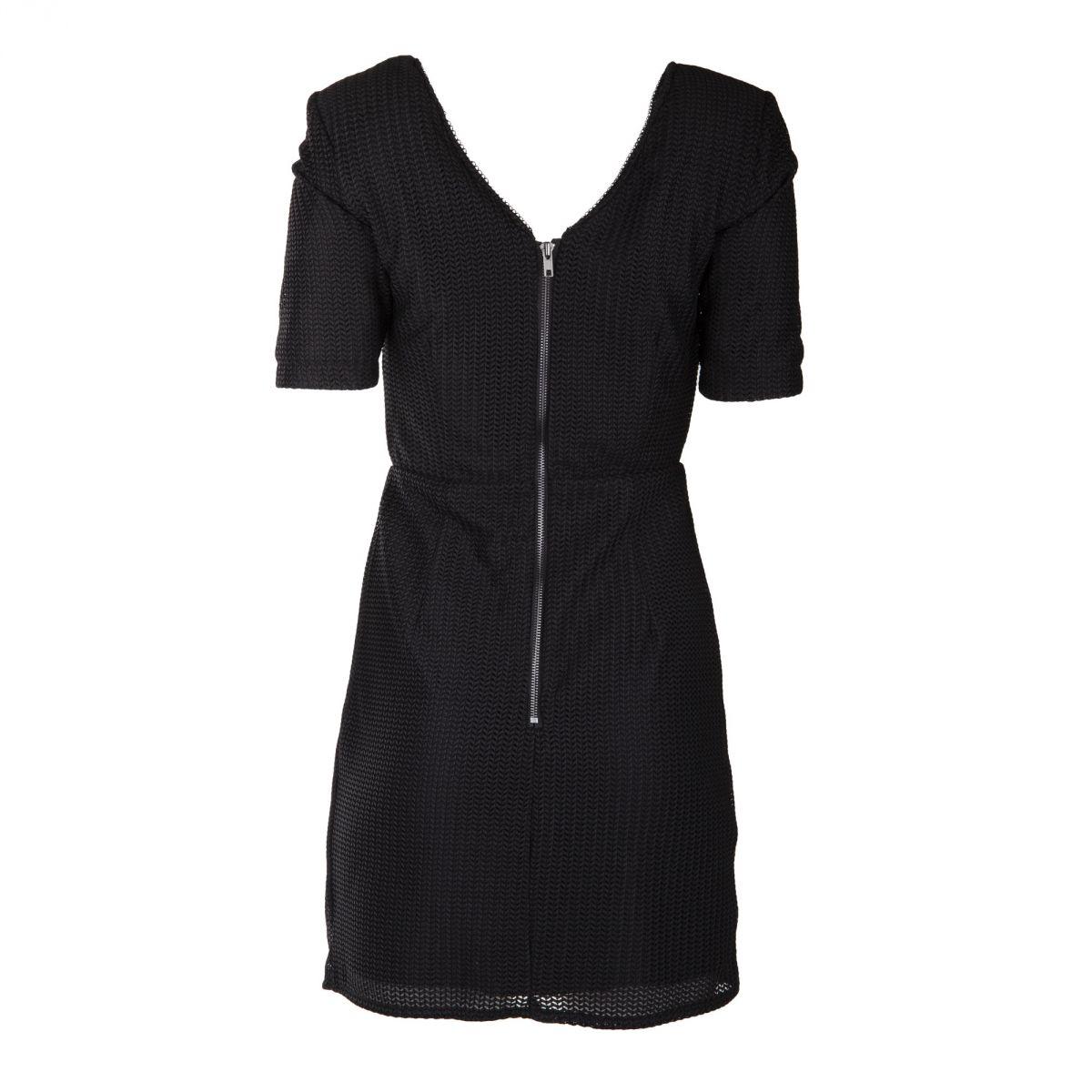 robe noire portefeuille femme on you prix d griff. Black Bedroom Furniture Sets. Home Design Ideas